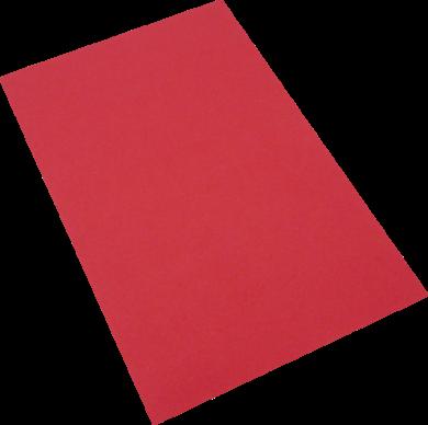 pěnová guma A4  červená EP-004(8594033831899)