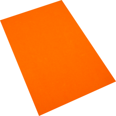 pěnová guma A4  oranžová EP-010(8594033832001)