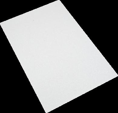 pěnová guma A4 iridiscent bílá EIR-003(8594033832049)