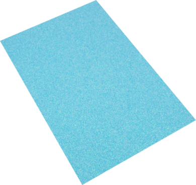 pěnová guma A4 iridiscent modrá světlá EIR-010(8594033832063)