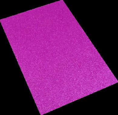 pěnová guma A4 glitr růžová EG-002(8594033832070)
