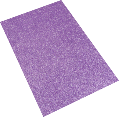 pěnová guma A4 glitr levandulová EG-005(8594033832094)