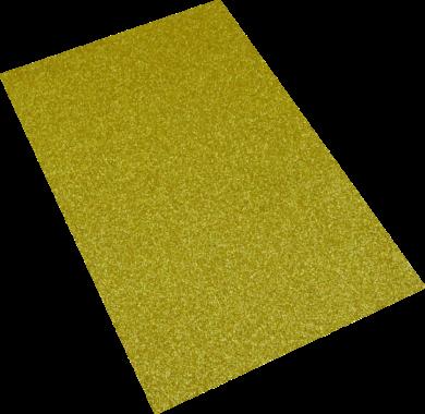 pěnová guma A4 glitr zlatá EG-007(8594033832100)