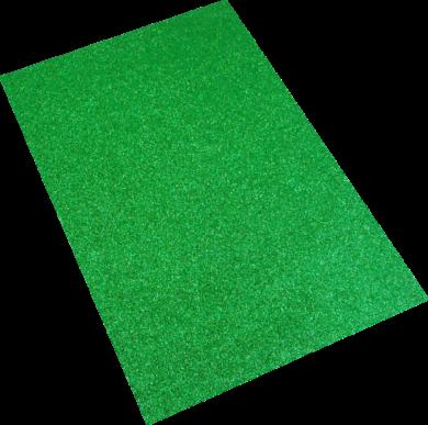 pěnová guma A4 glitr zelená EG-012(8594033832117)