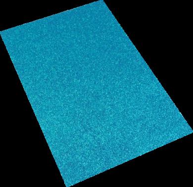 pěnová guma A4 glitr modrá EG-013(8594033832124)