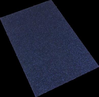 pěnová guma A4 glitr černá ocelová EG-024(8594033832179)