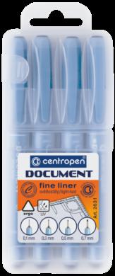 liner Centropen 2631 4ks(8595013611319)