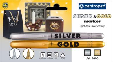 speciál Centropen 2690 2ks stř. + zlatý(8595013613030)