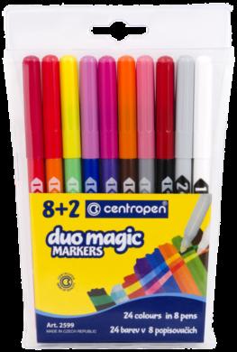 popisovač 2599/10 duo magic v etui(8595013618486)