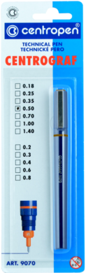 technická pera 9070 / 1 - 0,25(8595013619513)