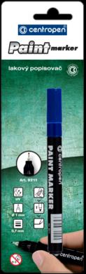 značkovač 9211 lakový modrý(8595013624135)