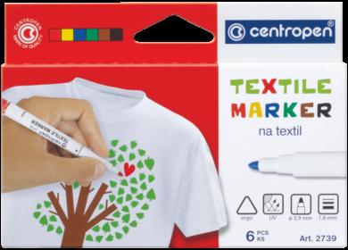 značkovač 2739 na textil  6ks(8595013625101)