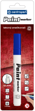 značkovač 9100 lakový modrý(8595013625231)