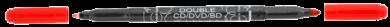 speciál Centropen 3616 Double CD/DVD/BD červený(8595013627891)