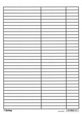 podložka  A4 papírová linka-čtvereček 6043(8595023960438)