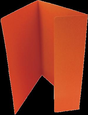 odkládací mapa 251 Classic oranžová(8595058338370)