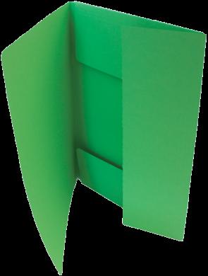 odkládací mapa 253 Classic zelená(8595058338431)