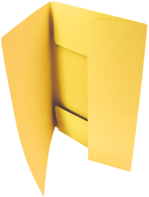 odkládací mapa 253 Classic žlutá(8595058338448)