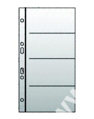 prospektový obal na vizitky - 4 kapsy 10ks(8595096704891)