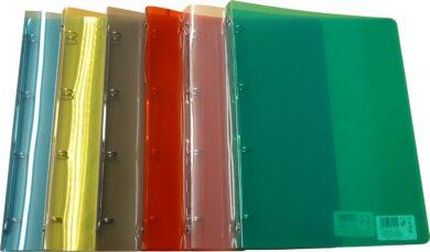 desky 4kr.plast TIM A4 P+P červené(8595096721448)