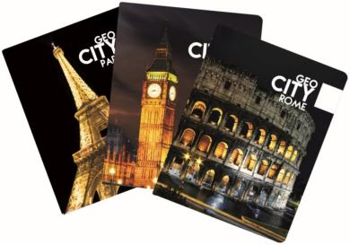 obal na doklady Geo City mix 6-12417(8595096761246)