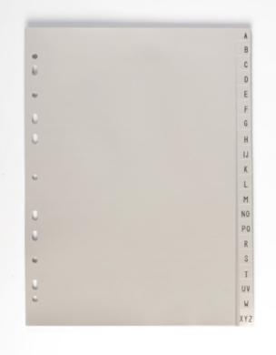rozřaďovač PP A4 A - Z 7-429(8595096774291)
