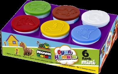 model.hmota NC-4108 Play Dough 6x65g(8680628000945)