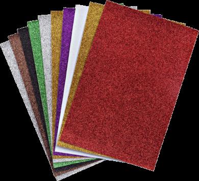 papír A4 glitrový NC-275 10barev mix(8680628001546)