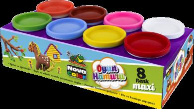 model.hmota NC-4150 Play Dough 8x130g(8680628006176)