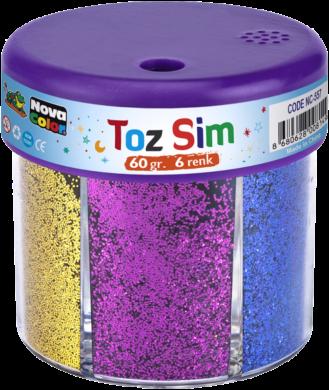 glitry NC-557 6x10g mix barev(8680628008149)