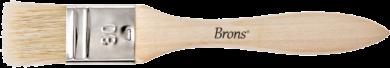 štětec BR plochý přírodní 30mm BR-2132(8681861002826)
