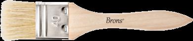 štětec BR plochý přírodní 40mm BR-2133(8681861002833)