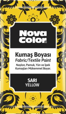 barva na textil prášková žlutá 12g NC-900(8681861005179)