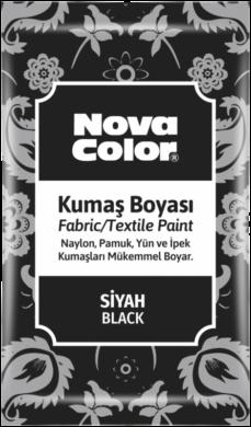 barva na textil prášková černá 12g NC-904(8681861005216)