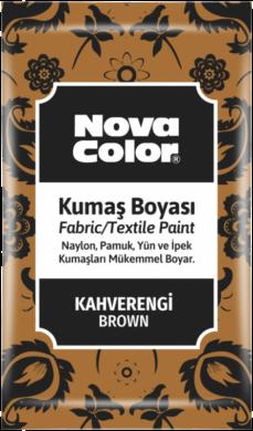barva na textil prášková hnědá 12g NC-905(8681861005223)