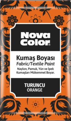 barva na textil prášková oranžová 12g NC-906(8681861005230)