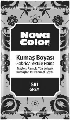 barva na textil prášková šedá 12g NC-908(8681861005254)