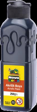 barva akrylová NC-3015 250g černá(8681861009795)