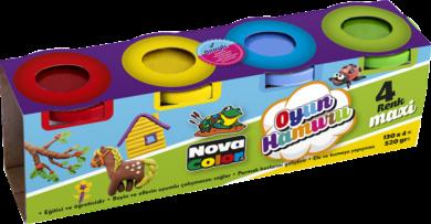 model.hmota NC-4105 Play Dough 4x130g(8697405224715)