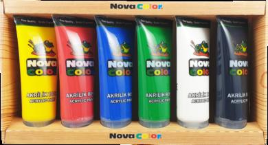 barvy akrylové NC-253 sada 6x75ml(8697405229178)