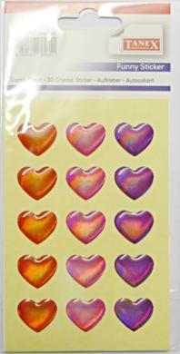 a samol.3D TDE-115 srdce metal 15ks(8698807760351)