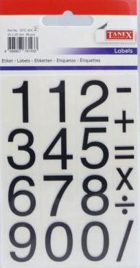 a samol.čísla STC-424 17x25 24ks(8698807761433)