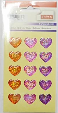 a samol.3D TDE-114 srdce hologram 15ks(8698807766780)