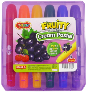 barvy tuhé TORU Fruity  6ks(8801456313780)