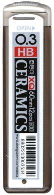 tuhy do mikrotužek  0,3  HB XQ ceramics 12 ks(8802203003534)