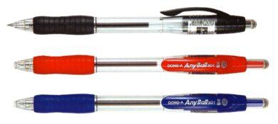 kuličkové pero Any ball 0,5 mm černé(8802203684313)