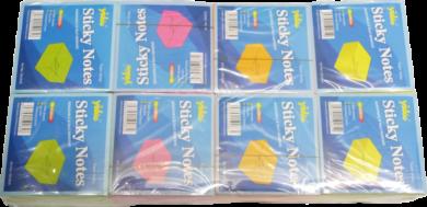 žnotes   Y neon  75 x 75  2x4 barvy 400l(937491592810)