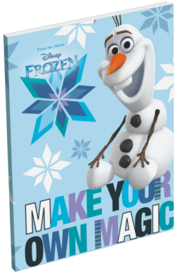 blok A7 Frozen Olaf Magic 17368620  (97416536863)