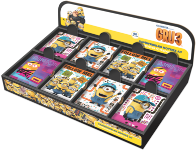 blok A7  display Minions mix 80ks 18433314  (997416543335)