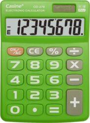 kalkulačka Casine CD-276 zelená-8 míst, velká tlačítka, zelená